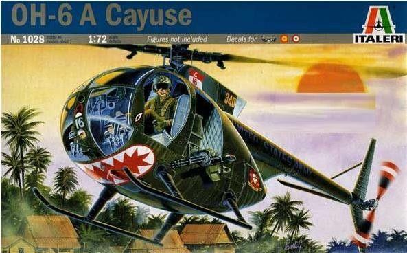 Hughes OH-6A Cayuse 1028