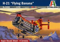 H-21 Flying Banana 1315 ITALERI