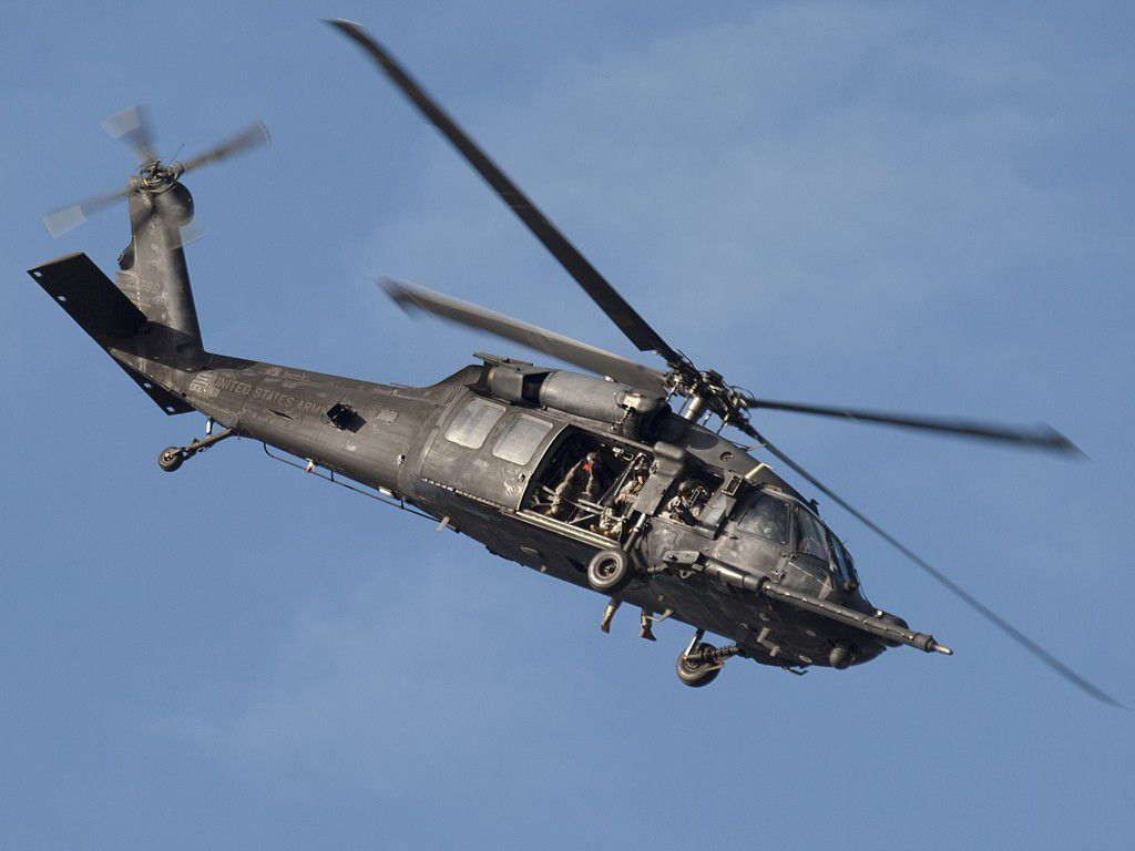 Sikorsky MH-60K Black Hawk SOA 2666 ITALERI