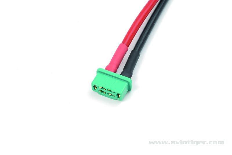 CONNECTEUR MPX MALE 14AWG 10CM- GFORCE