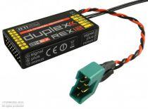 REX 12 EPC Duplex EX 2.4Ghz Jeti 12 Voies - Récepteur - 007RR12 - RR12