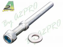 AXE DE ROUE 5mm pour Train Alu (2p)