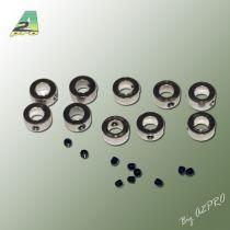 BAGUE ARRET 6mm (10 pcs)