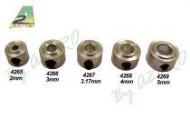Bague arrêt Alu 4mm (10 pcs)