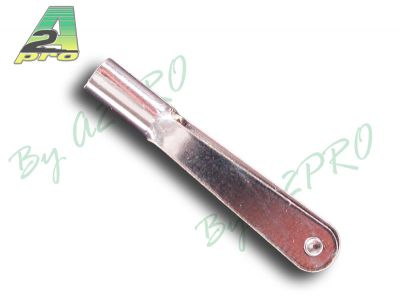 Chape acier nickelé M3 (10 pcs)