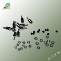 Domino pour fixation càp 2mm / servo (10 pcs)