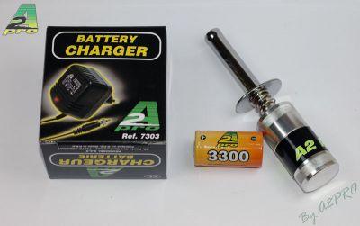 CHAUFFE BOUGIE METAL SC-3300 + CHARGEUR - 1265