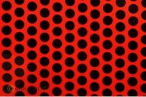 ORASTICK FUN 1 ROUGE FLUO/NOIR 2m