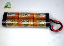 6332F PACK NIMH 7.2v/AP-3300SC TAMIYA