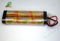 6402F - PACK NIMH 7.2v/AP-4000SC PRISE TAMIYA