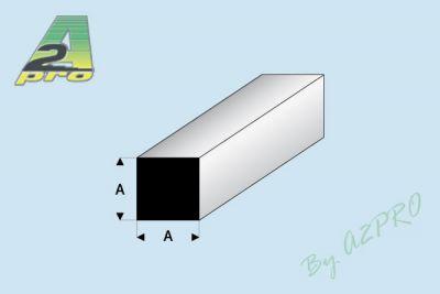 PROFILE CARRE 1.5mm BLANC