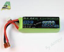 Black lithium 2500mAh 35C 4S - 9250340