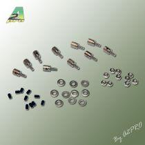 Domino pour fixation càp 1,2mm (10  pcs)