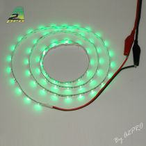 Ruban LED auto-collant 6V Vert 1m