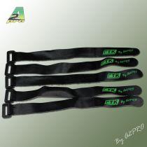 Collier velcro antidérapant 20cm - 25mm (5 pcs)