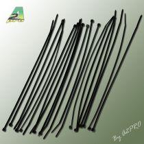 Collier nylon noir 2,5x200mm (20 pcs)