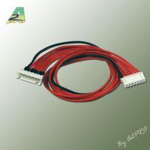 Rallonge 30 cm 22AWG JST-XH 6S - A2PRO - 12347