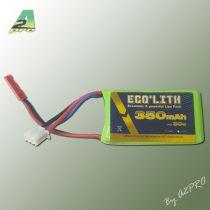 Eco'lith 350mAh 30C 2S