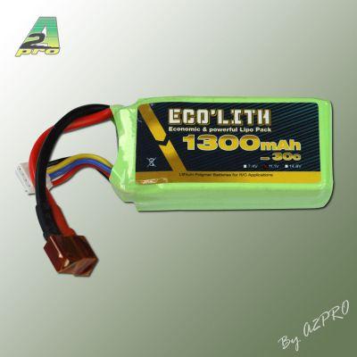 Eco'lith 1300mAh 30C 3S - 9130230