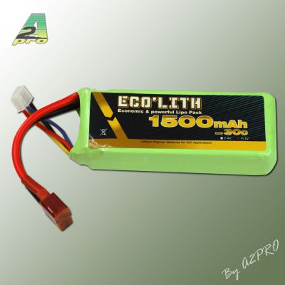 Eco'lith 1500mAh 30C 3S