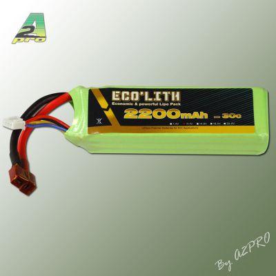 Eco'lith 2200mAh 30C 3S