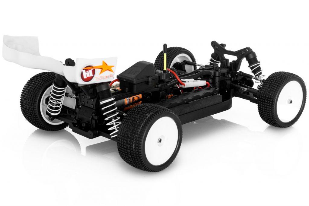 1.REV.BX10 REVOLT BX10 V4.0 electrique 1 / 10RTR carro. VERTE + accus + chargeur