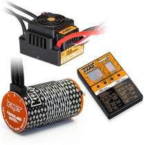 COMBO BRUSHLESS 1/8 150Amp WP + Moteur 4P. 4274 2000KV +carte de prog