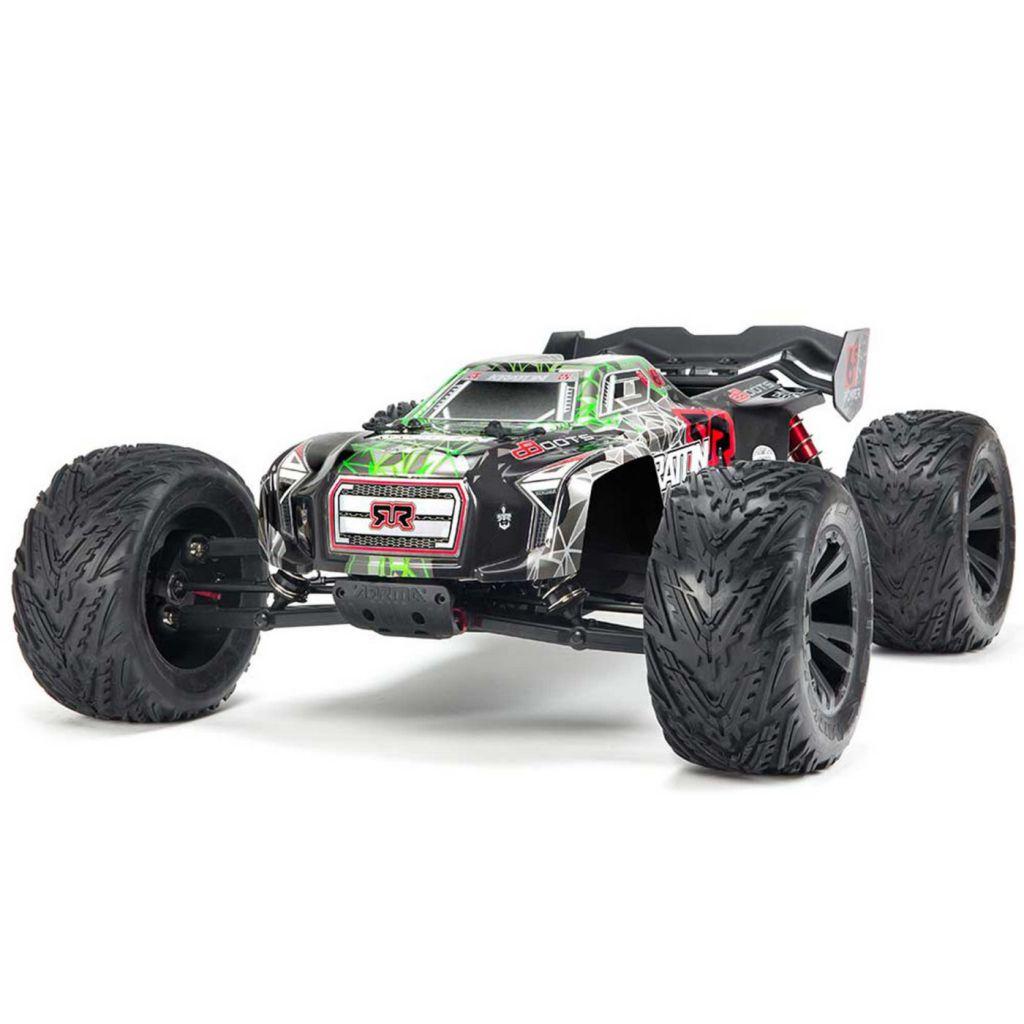AR106031 2018 1/8 Kraton 6S BLX 4WD Mnstr RTR Blk/ - HORIZON HOBBY - Référence: ARAD81LG