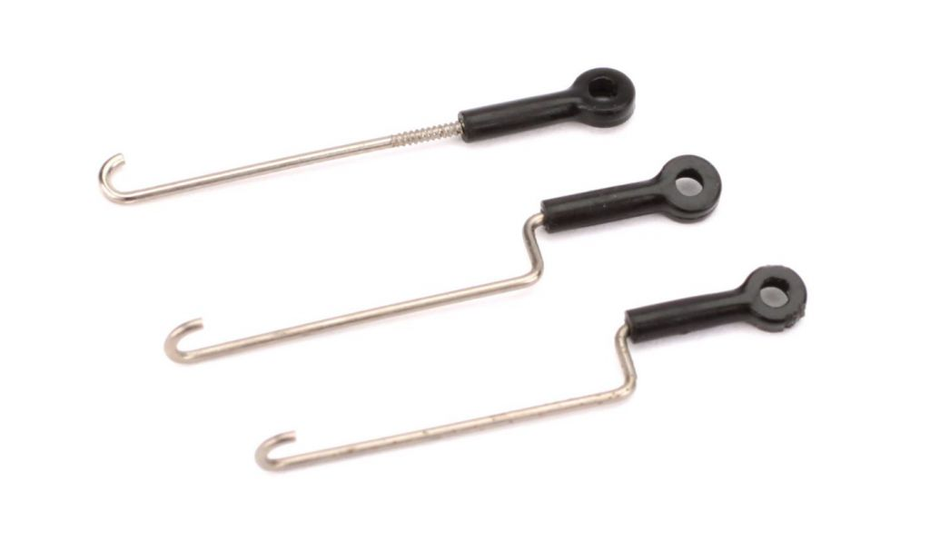 Blade Servo Pushrod Set with ball links: nCP X - HORIZON HOBBY - Référence: BLH3308