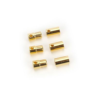 SET OF 3 FEMALE AND MALE 8.0MM BULLET CONNECTORS - HORIZON HOBBY - Référence: CSECCBUL83