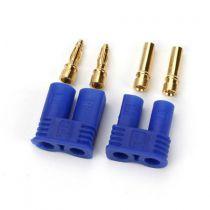 Prises EC2 coté batterie et contrôleur - HORIZON HOBBY - Référence: DYNC0002