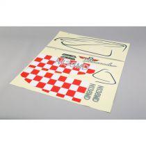E-FLITE Commander mPd 1.4m - Planche de décoration - HORIZON HOBBY - Référence: EFL4827