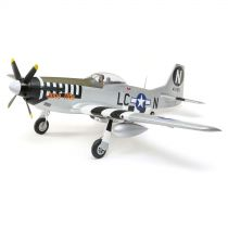 E-FLITE P-51D Mustang 1.2m BNF Basic w/AS3X and SS - HORIZON HOBBY - Référence: EFL8950