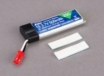 E-FLITE Batterie Li-Po 3,7V 1S 500mA 25C - HORIZON HOBBY - Référence: EFLB5001S25