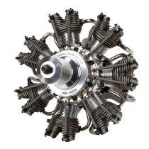 Moteur radial 7 cylindres 77cc 4 temps - HORIZON HOBBY - Référence: EVOE777