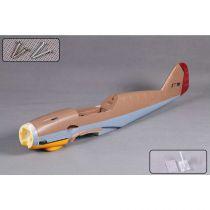 Fuselage, Brown: BF109 1400mm - HORIZON HOBBY - Référence: FMMML101BRN