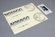 Cirrus SR20 -Plance de décoration - HORIZON HOBBY - Référence: HAN502021
