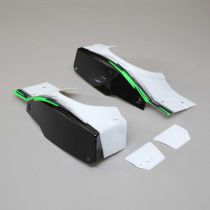 L/R Rear Fender Set, Black: Super Baja Rey - HORIZON HOBBY - Référence: LOS250027