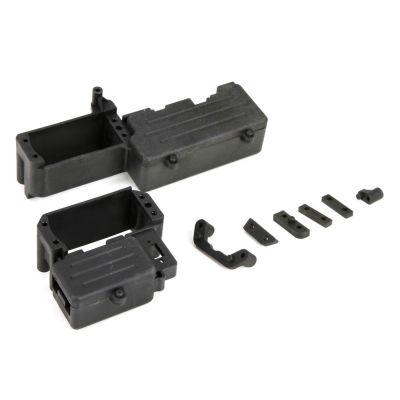 1/5 4WD - Platine radio + support de réservoir - HORIZON HOBBY - Référence: LOS251012
