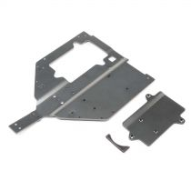 Chassis & Motor Cover Plate: Super Baja Rey - HORIZON HOBBY - Référence: LOS251061