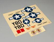 P-47D -Planche de décoration - HORIZON HOBBY - Référence: PKZ5321