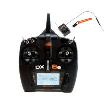 Émetteur Spektrum DX6e 6 voies avec récepteur AR610 EU - HORIZON HOBBY - Référence: SPM6650EU