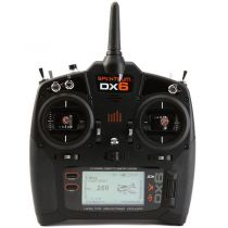 Émetteur Spektrum DX6 G3 6 voies DSMX avec récepteur AR6600T MD2 - HORIZON HOBBY - Référence: SPM6755EU