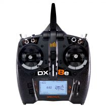 Spektrum DX8e 8-Channel Transmitter Only EU - HORIZON HOBBY - Référence: SPMR8100EU