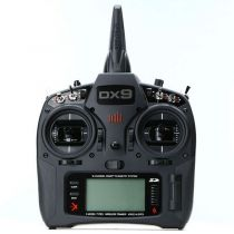 Émetteur Spektrum DX9 Black seul MD2 EU - HORIZON HOBBY - Référence: SPMR9910EU