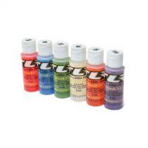 Assortiment de 6 flacons d'huile silicone d'amortisseur 50,60,70,80,90,100 en 60ml - HORIZON HOBBY - Référence: TLR74021
