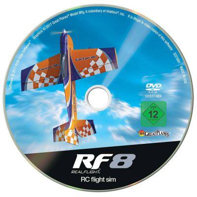 Realflight Horizon Hobby Edition RF-8 - mise à jour vers RF9 gratuite - RFL1001