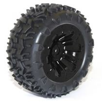 FTX CARNAGE MOUNTED WHEEL/TYRE