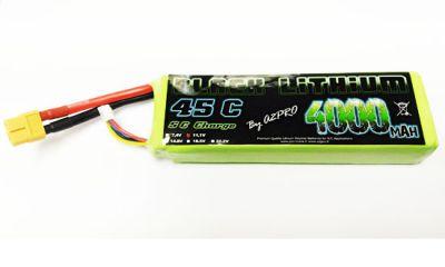Accu LiPo Black Lithium 4000mAh 45C 3S