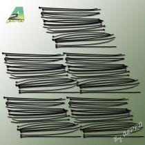 16521-1 - Collier nylon noir 2,5x200mm (100 pcs)
